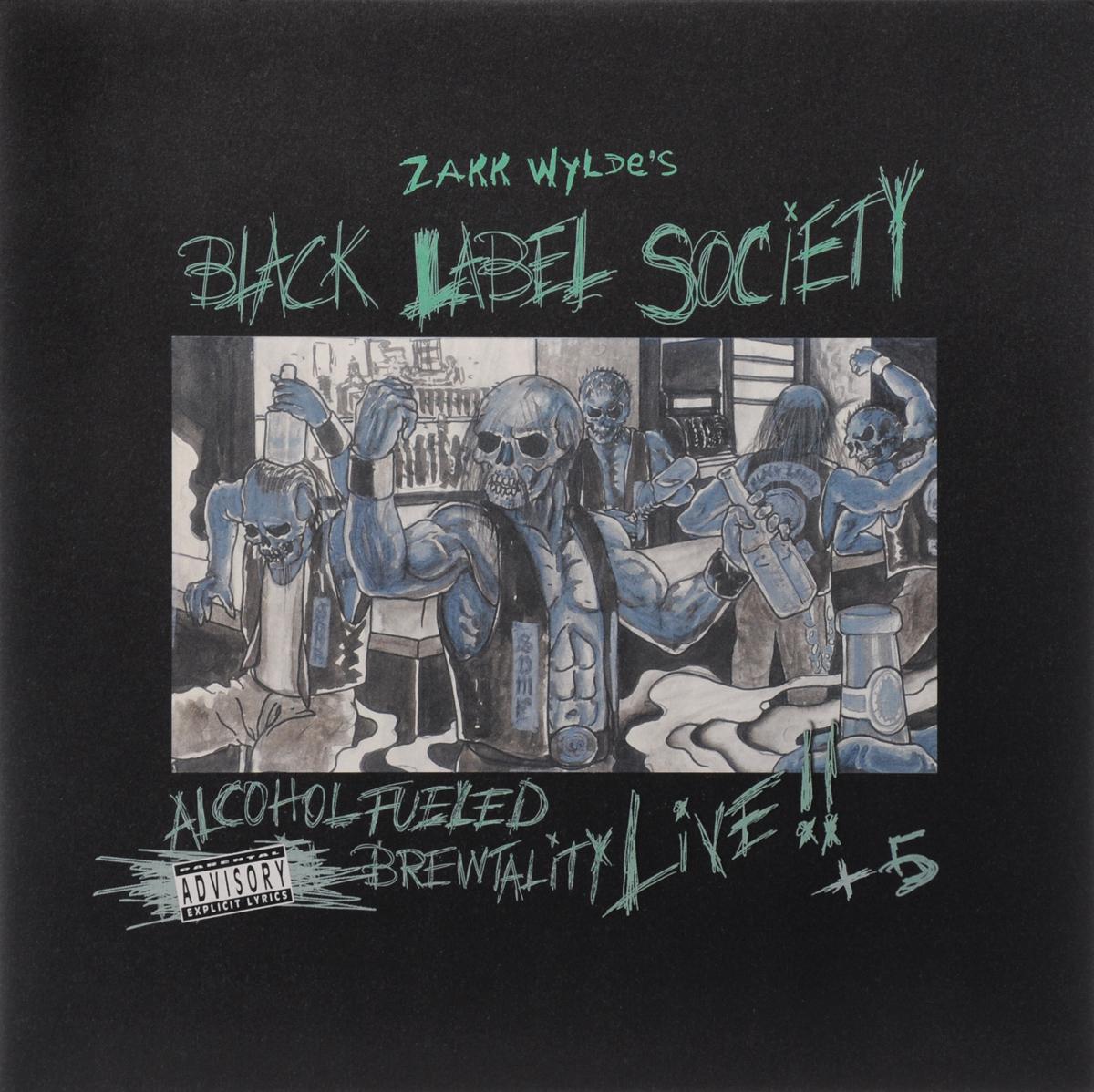Black Label Society Black Label Society. Alcohol Fueled Brewtality Live!! +5 (2 LP)