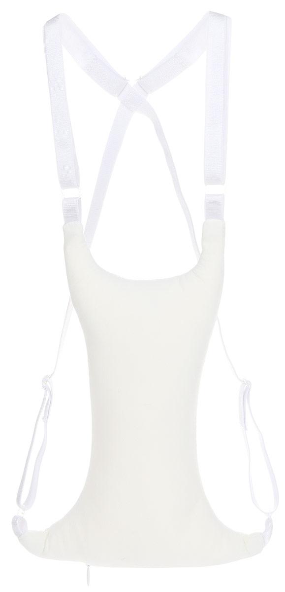 Подушка для груди Smart Textile Женский каприз. Омоложение, наполнитель: лебяжий пух, цвет: белый, 21 х 19 х 5 смGKO_белыйПодушка для груди Smart Textile Женский каприз. Омоложение подходит для реабилитации после операций и косметических процедур, беременным и кормящим женщинам, создает комфорт во время сна обладательницам большого бюста. Эта подушка создана не только для комфорта груди, но и для того, чтобы предотвратить образование морщин в зоне декольте. Эти морщинки, похожие на гусиные лапки, являются следствием сна на боку или животе. Подушка позволяет больше отдыхать во время сна, она уменьшает дискомфорт во время сна на боку и на животе и снижает риск развития заболеваний, связанных с молочной железой (рак, мастопатия). Подушка выполнена из ткани (73% полиамид, 27% эластан) с микрокапсулами. Внутри - наполнитель из лебяжьего пуха. Микрокапсулы - это капсулы размером в несколько микрометров, состоящие из плотной оболочки и содержащие активные вещества (витамины, экстракты). Во время эксплуатация изделия активные вещества выделяются на поверхность ткани, обрабатывая кожу. В данном изделии активными веществами являются антиоксиданты: алоэ вера и витамин Е, увлажняющие кожу и насыщающие ее питательными компонентами. Витамин Е предотвращает окислительный процесс клеток, улучшает их питание и замедляет старение. Экстракт алоэ вера восстанавливает, увлажняет и защищает кожу, замедляя процесс старения. Здоровый и правильный сон - один из важнейших залогов красивой груди. Подушка очень просто надевается и регулируется с помощью бретелек.
