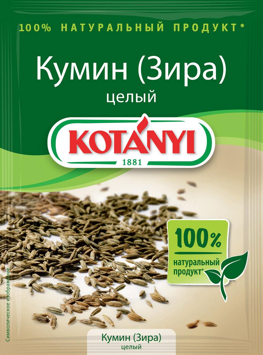 Kotanyi Кумин (зира) целый, 20 г159811Все началось в 1881 году, когда Януш Котани основал мельницу по переработке паприки. Позже добавились лучшие специи и пряности со всего света. Как в те времена, так и сегодня. Используются только самые качественные ингредиенты для создания особого вкуса Kotanyi. Прикоснитесь и вы к источнику такого вдохновения!Кумин обладает сладковатым вкусом и приятным ароматом, который полностью раскрывается в процессе приготовления. Целый или свежемолотый кумин Kotanyi - это незаменимая пряность для ваших блюд! Прекрасно подходит для приготовления свинины, баранины, овощей, а также для блюд среднеазиатской и индийской кухни.