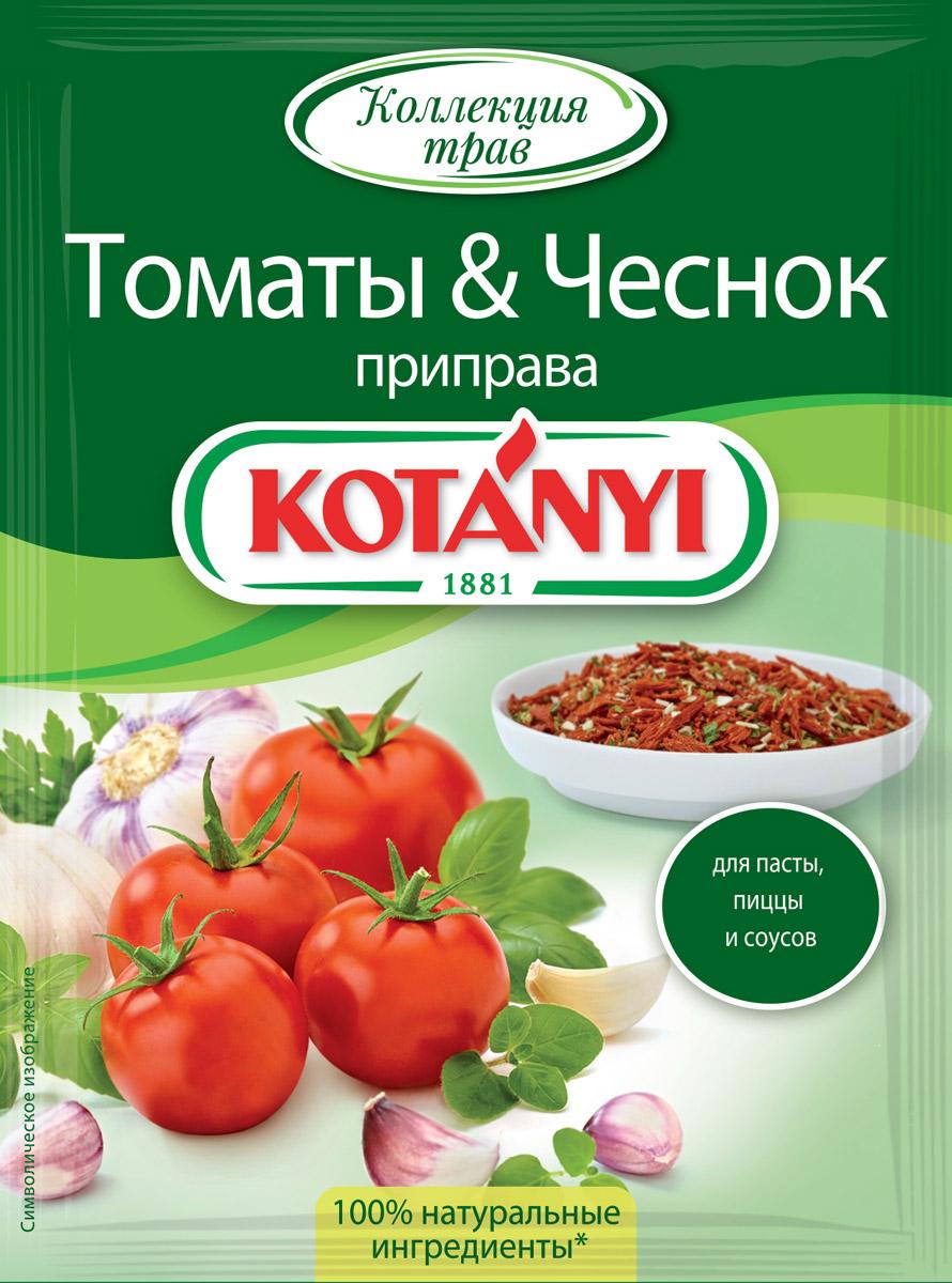 Kotanyi Приправа Томаты & чеснок, 20 г kotanyi лимонная цедра измельченная 15 г