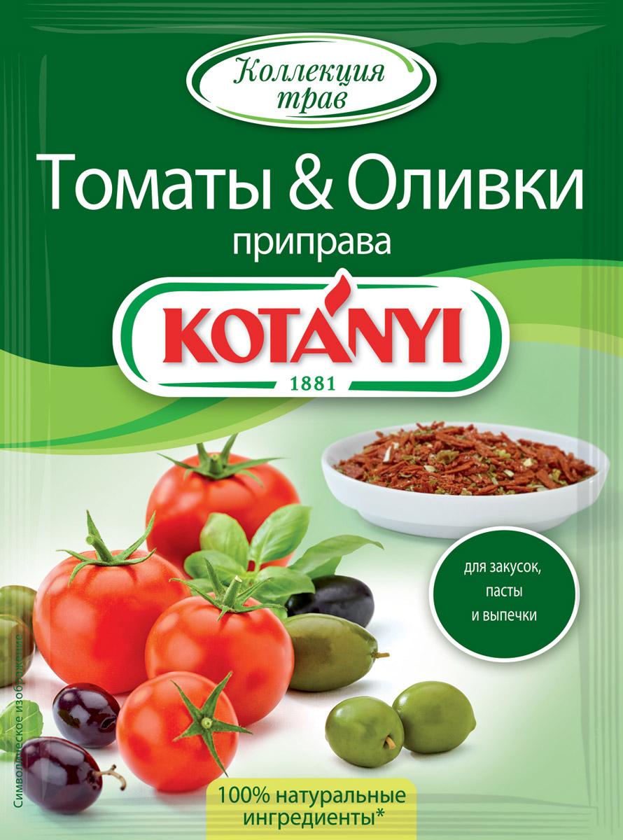 Kotanyi Приправа Томаты & оливки, 20 г приправа для маринования мяса в минеральной воде костровок 25 г