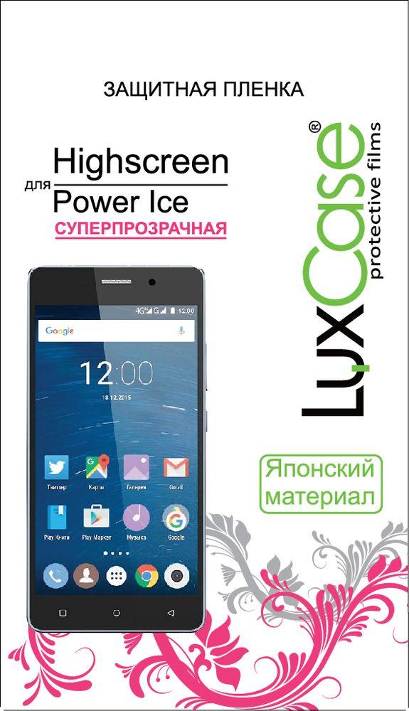 LuxCase защитная пленка для Highscreen Power Ice, суперпрозрачная пленка на полароид купить