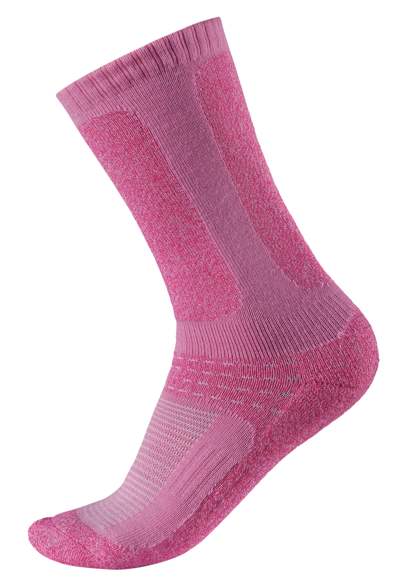 Носки детские Reima Loma, цвет: розовый. 527241-9990. Размер 26 носки лыжные warm 100 детские