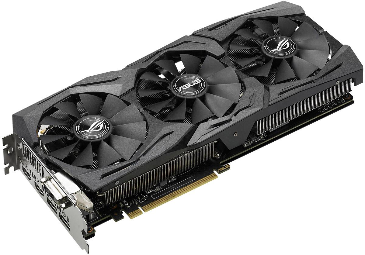ASUS Strix GeForce GTX 1070 8G Gaming 8GB видеокарта видеокарта asus geforce gtx 1060 1620mhz pci e 3 0 6144mb 8208mhz 192 bit dvi hdmi hdcp rog strix gtx1060 o6g gaming