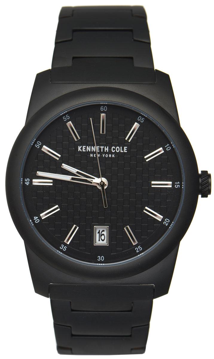 Часы наручные мужские Kenneth Cole, цвет: черный. 10025895
