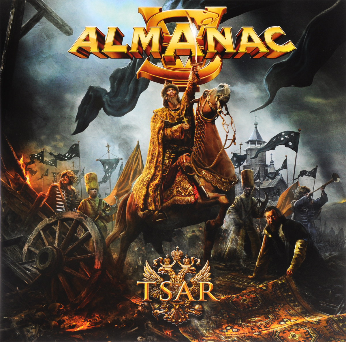 Almanac Almanac. Tsar (2 LP) [show z store] [pre order] cloud 9 w 01c quakeblast clear version c9 cloud9 quakeblast quake blast transformation action figure
