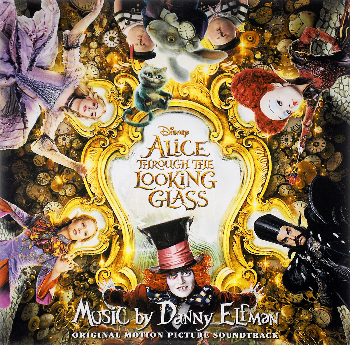 Alice Through The Looking Glass худи print bar walt disney