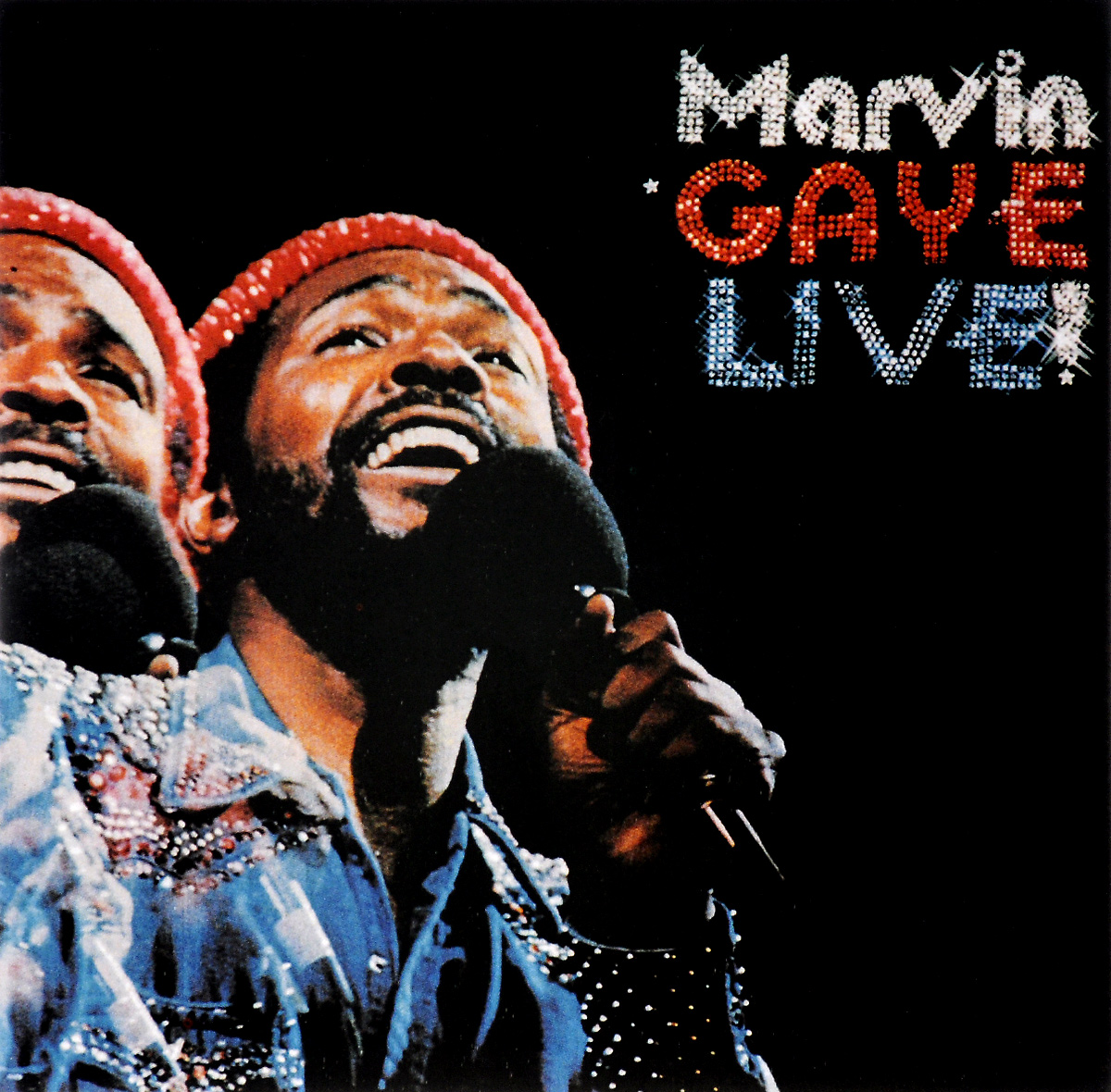 Марвин Гэй Marvin Gaye. Live marvin gaye marvin gaye here my dear 2 lp
