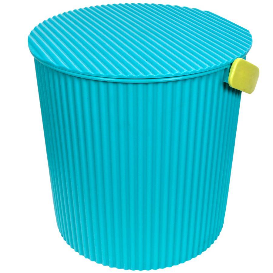 Ведро-стул Изумруд Bambini, цвет: морская волна, 10 л105-морская волнаВедро-стул Изумруд Bambini выполнено из прочного пластика. Изделие может быть использовано, как стул где-нибудь на природе, как ведро для дома, для рыбалки, для похода. Имеет множество ребер жесткости, которые обеспечивают ему дополнительную прочность.Интересный дизайн впишется в любой интерьер дома, офиса, дачи и сделает его более оригинальным.Диаметр (по верхнему краю): 26 см.Высота: 26 см.УВАЖАЕМЫЕ КЛИЕНТЫ!Обращаем ваше внимание на то, что цвет ручки может меняться в зависимости от прихода товара на склад.