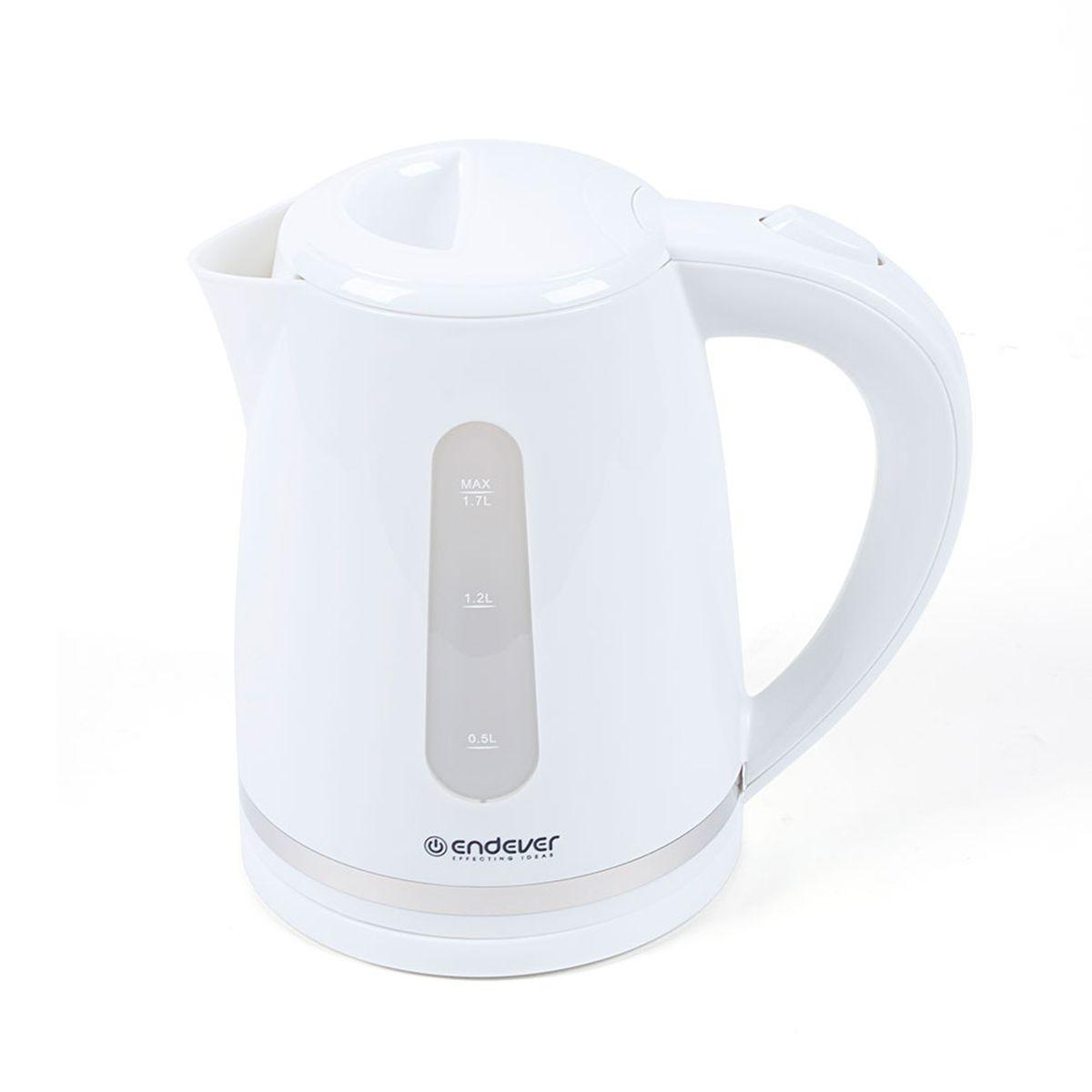 Endever KR-226 Skyline электрический чайникKR-226Endever KR-226 Skyline - это мощная (2400 Вт) модель большого объема (1,7 л). С помощью этого чайника вы сможете приготовить чай на большую компанию за считанные минуты. Вращающийся корпус сделает использование чайника еще более удобным, а фильтр избавит от попадания накипи в чашку.