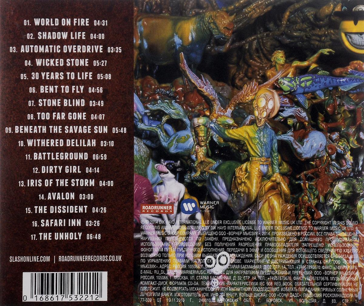 Slash.  World On Fire Roadrunner Records,Warner Music Russia
