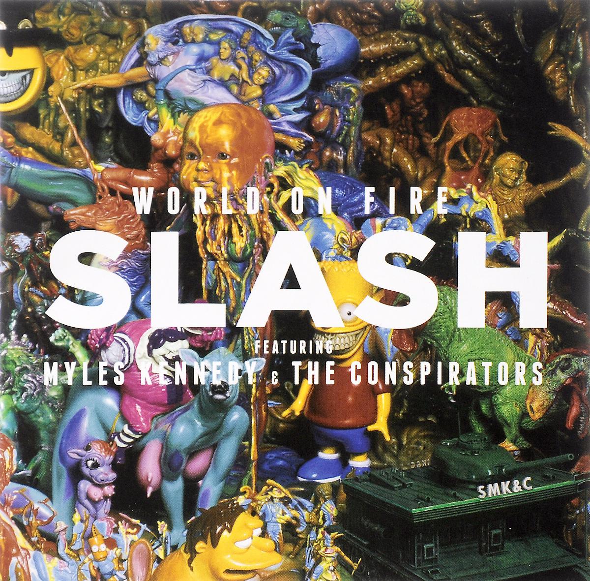 Slash Slash. World On Fire