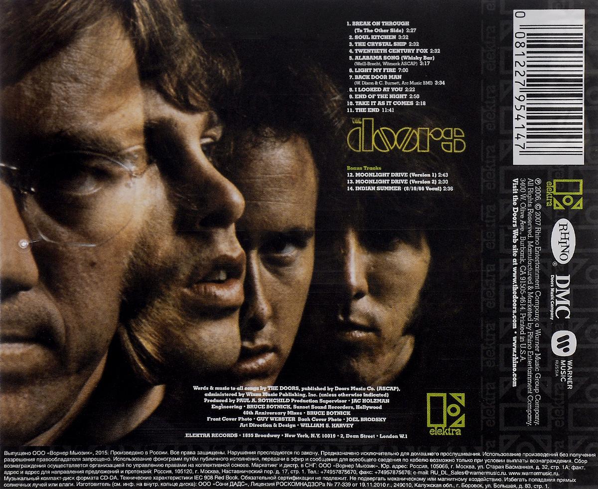 The Doors.  The Doors Warner Music,Rhino Entertainment Company