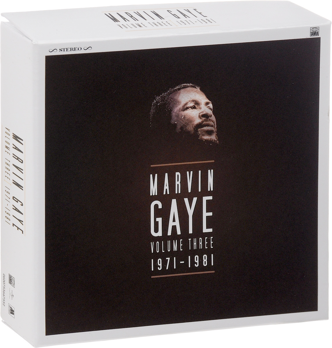 Марвин Гэй Marvin Gaye. Volume Three. 1971 - 1981 (7 CD) марвин гэй marvin gaye volume jne 1961 1965 7 lp