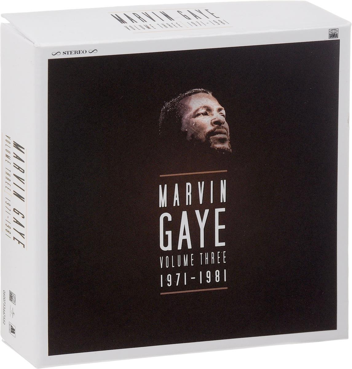 Марвин Гэй Marvin Gaye. Volume Three. 1971 - 1981 (7 CD) marvin gaye marvin gaye here my dear 2 lp
