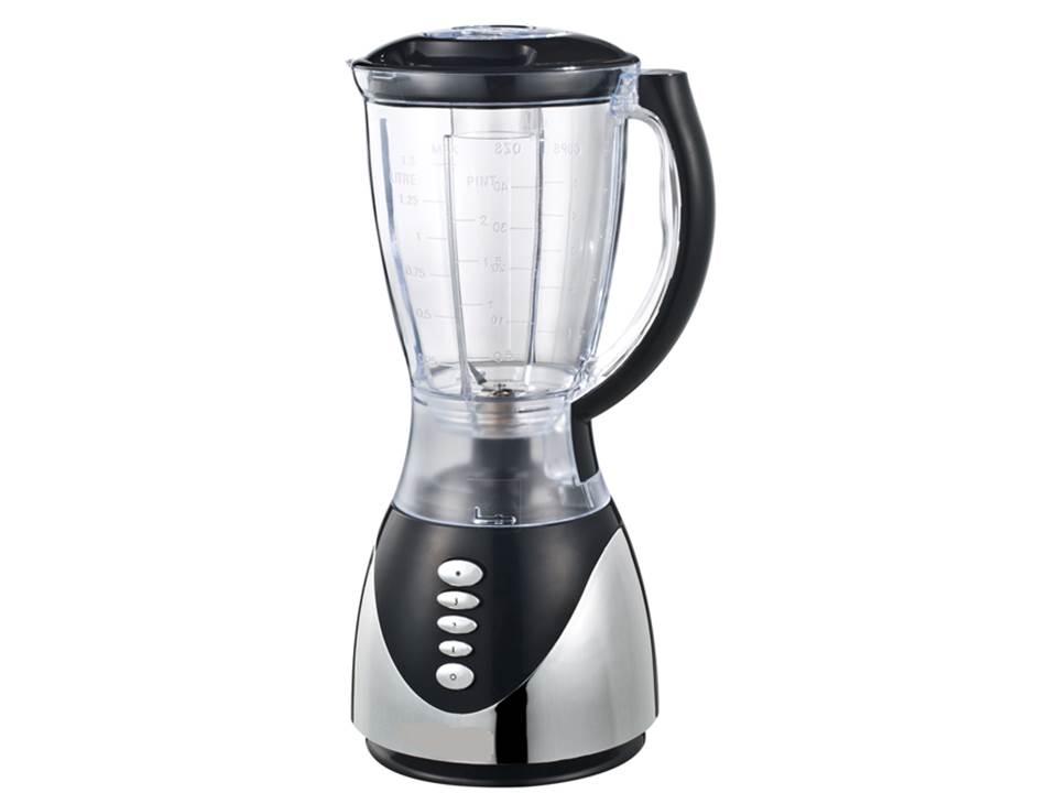 Zimber ZM-10114 блендерZM-10114Универсальный прибор Zimber ZM-10114 из высококачественных материалов предназначен для измельчения различных ингредиентов, а благодаря специальной насадке устройство позволяет в считанные минуты получить вкусный и полезный сок из цитрусовых. Ударопрочная чаша объемом 1,5 литра позволит приготовить разнообразные напитки для всей семьи и легко переносит мойку в посудомоечном машине.