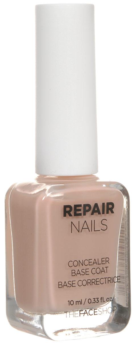 The Face Shop Repair Nails Укрепляющая основа под лак, 10 мл 12 63 tw007ewnef36