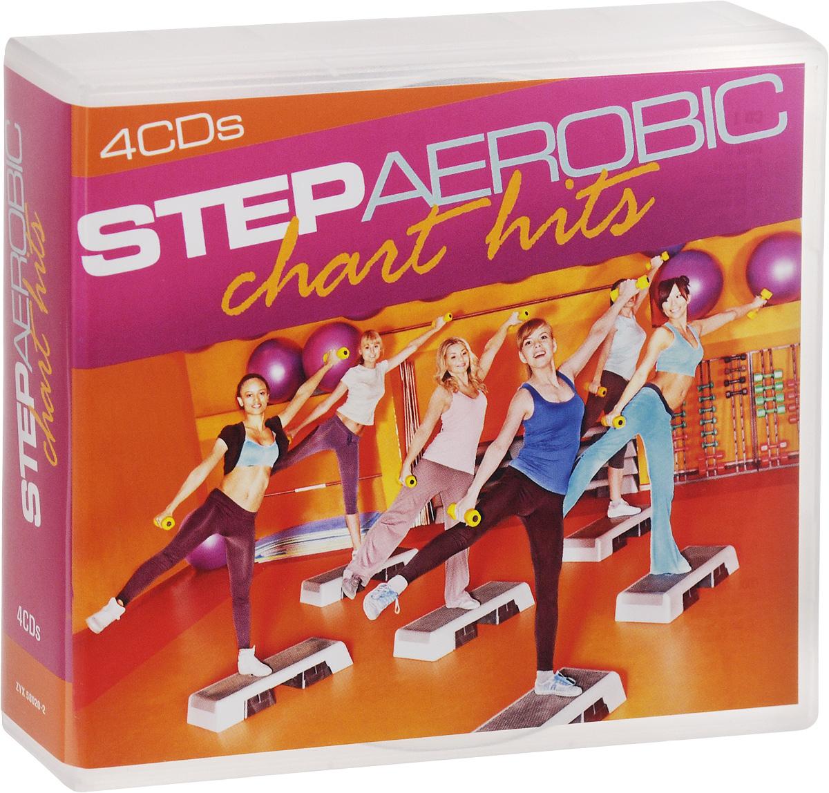 Антонио Эсколино,Clueless,A Hard Mountain,Ability,Air Lovers,Dj Mezmerize,Aerobic-Stars,Astonished,The Apples Step Aerobic. Chart Hits (4 CD) sm 86 ht118 4208a step motor