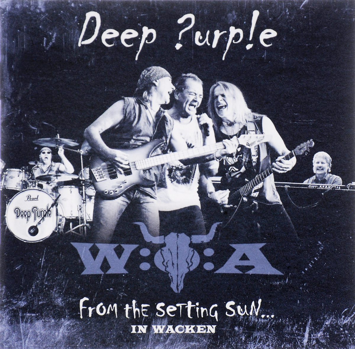 Deep Purple Deep Purple. From The Setting Sun... In Wacken (2 CD) deep purple deep purple live in stockholm 1970 2 cd dvd