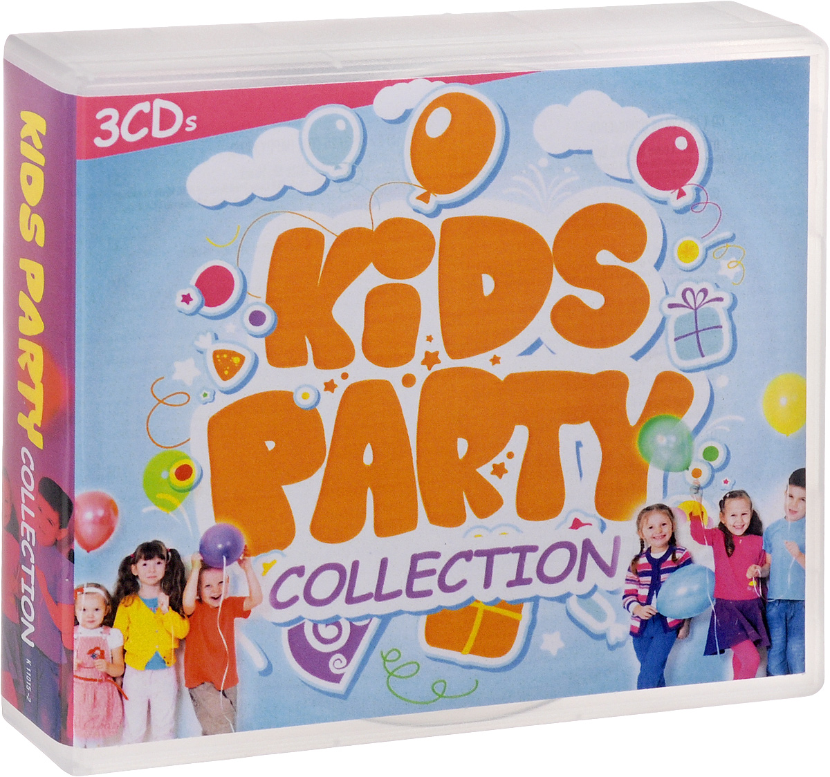 Chrimebo,The Happy Kids,Manfred Kessler Kids Party Collection (3 CD) spare the kids
