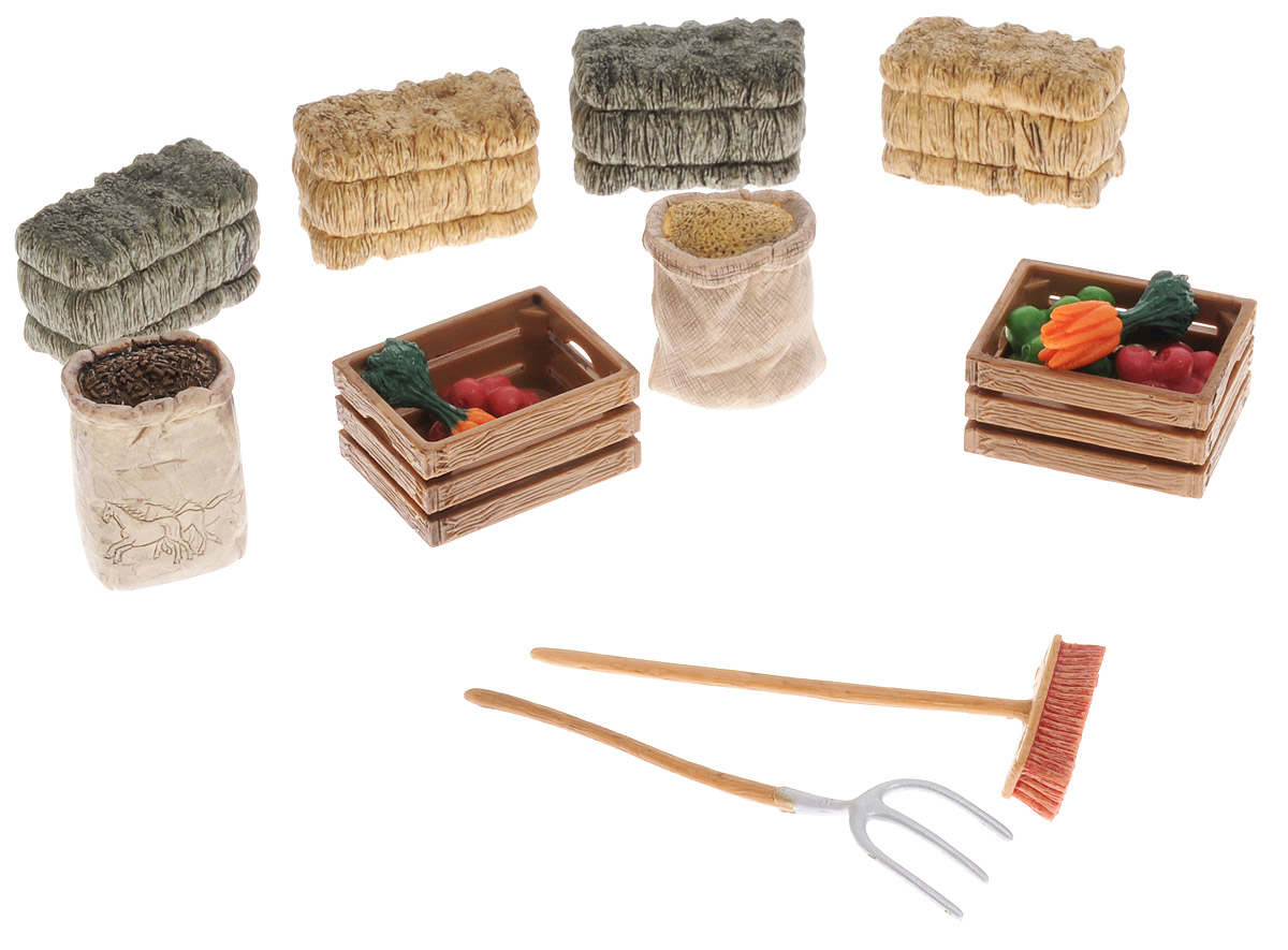 Schleich Игровой набор для кормления лошадей 42105 schleich набор для кормления schleich
