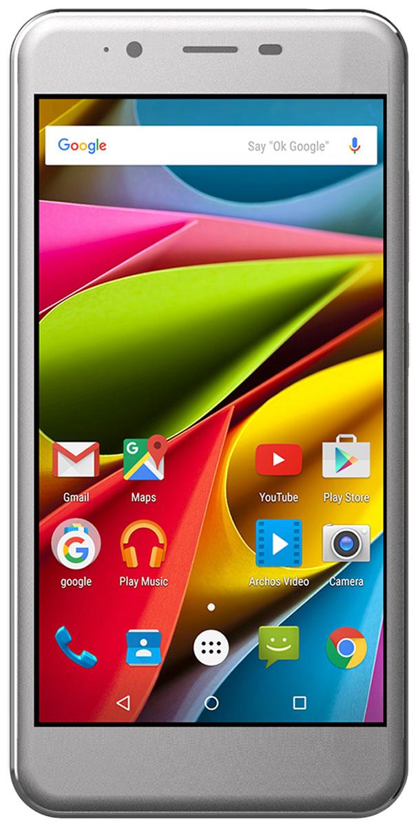 Archos 50 Cobalt50 Cobalt5-дюймовый экран Archos 50 Cobalt хорош со всех сторон. Технология IPS-дисплея обеспечивает яркие цвета и широкие углы обзора. Чтобы улучшить хват телефона, компания Archos использовала изогнутое по краям стекло (2.5D). Это обеспечивает уникальное чувство хвата телефона и добавляет эстетики.Технологичный процессор MediaTek, используемый в Archos 50 Cobalt, в сочетании с 1 ГБ оперативной памяти обеспечивает высочайшую производительность. Приложения и игры работают максимально плавно, давая возможность насладиться всеми преимуществами мультизадачности.Archos 50 Cobalt – это не только смартфон, но и продвинутая компактная цифровая камера. Смартфон оснащен двумя камерами: основной (8 Мп) и фронтальной (2 Мп). Используя автофокус можно делать невероятно четкие снимки. И, конечно, не забудем про видеочаты с друзьями и родными в любой точке мира.Откройте для себя Android Lollipop 5.1 с Archos 50 Cobalt. ОС обеспечивает эффективное управление зарядом аккумулятора и оснащена рядом серьёзных улучшений. Полностью сертифицированным Google, этот смартфон включает в себя лучшие мобильные приложения Google, а также полный доступ к магазину Google Play с более 1,3 миллиона приложений и игр, а также музыке, фильмам, книгам и журналам. Получите максимум от Android.Сети 4G/LTE уже присутствуют практически везде, теперь вы можете насладиться скоростью с Archos 50 Cobalt, просматривая веб-страницы, загружая контент и смотреть фильмы с невероятно высокой скоростью.Телефон сертифицирован EAC и имеет русифицированный интерфейс меню и Руководство пользователя.