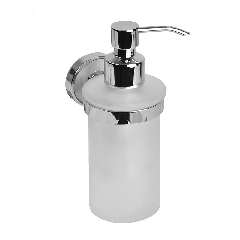 Дозатор для жидкого мыла Iddis CalipsoCALMBG0i46Дозатор для жидкого мыла Iddis Calipso отлично подойдет для вашей ванной комнаты.Такой аксессуар очень удобен в использовании,достаточно лишь перелить жидкое мыло вдозатор, а когда необходимо использованиемыла, легким нажатием выдавить нужноеколичество.