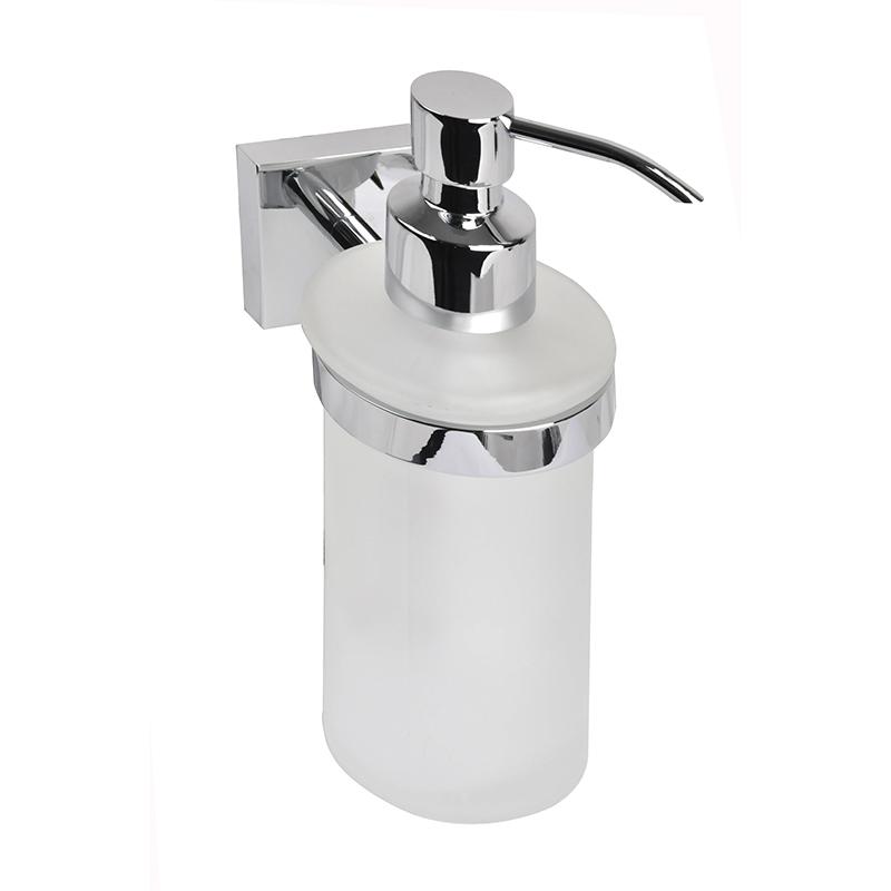 Дозатор для жидкого мыла Iddis EdificeEDIMBG0i46Дозатор для жидкого мыла Iddis Edifice отлично подойдет для вашей ванной комнаты.Такой аксессуар очень удобен в использовании,достаточно лишь перелить жидкое мыло вдозатор, а когда необходимо использованиемыла, легким нажатием выдавить нужноеколичество.