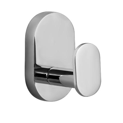 Крючок настенный Iddis Mirro Plus, цвет: хромMRPSB10i41Двойной крючок Iddis Mirro Plus предназначен для подвешивания полотенец, халата и многого другого в ванной комнате. Он выполнен из латуни. Хромированное покрытие придает изделию яркий металлический блеск и эстетичный внешний вид. Крепление входит в комплект.