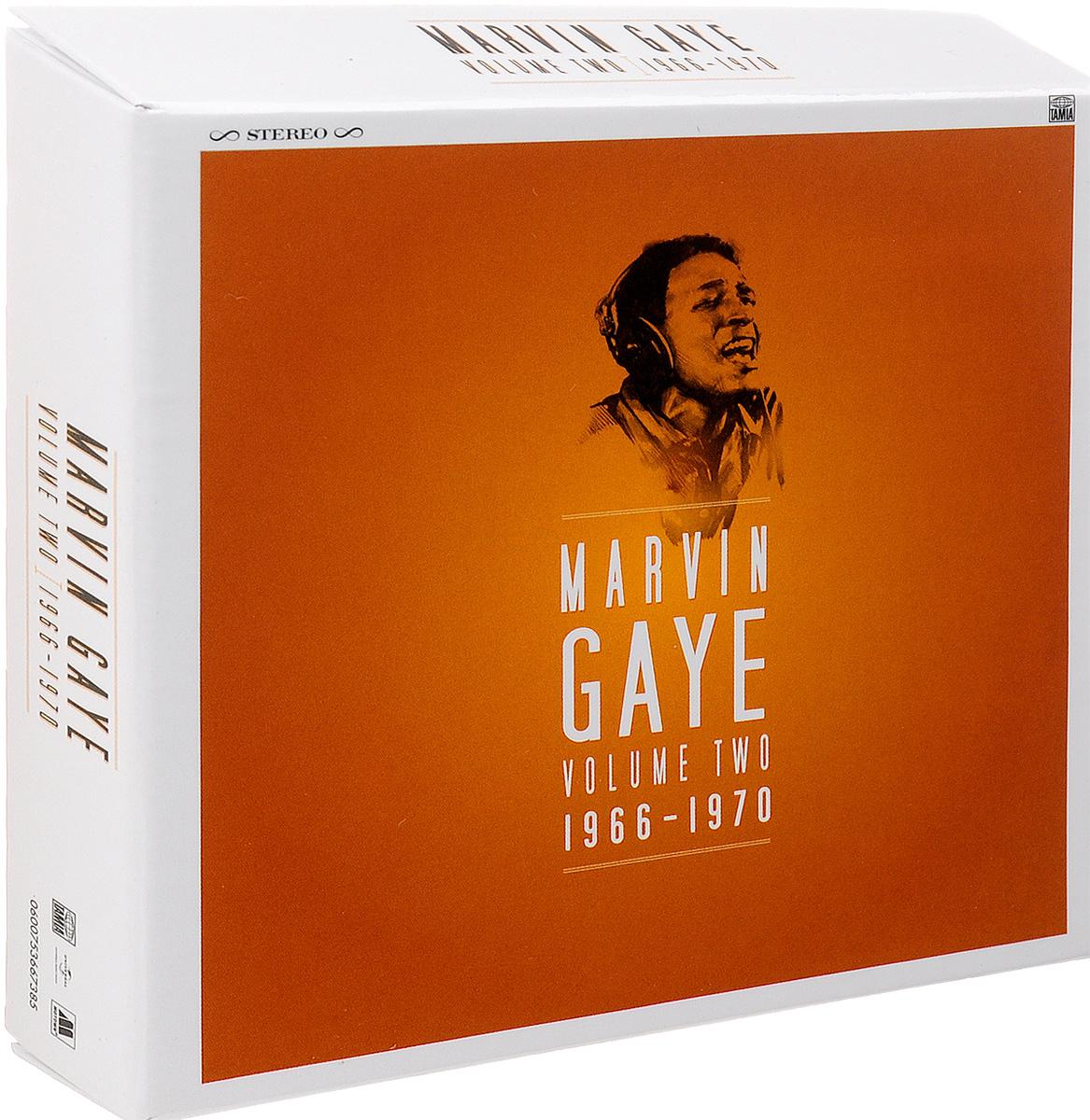 лучшая цена Марвин Гэй,Ким Уэстон,Тамми Тэррелл Marvin Gaye. Volume Two. 1966 - 1970 (8 CD)