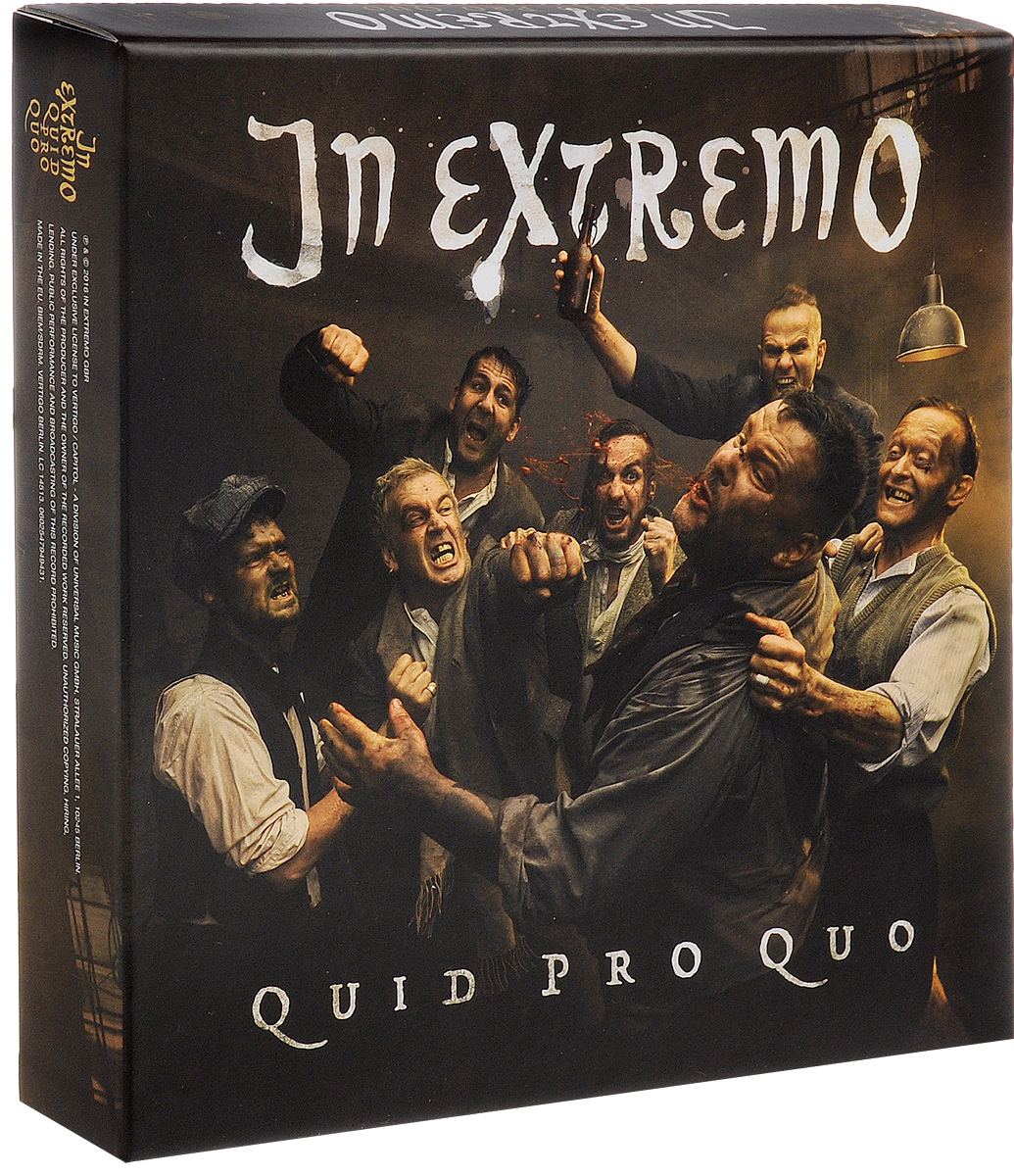 In Extremo In Extremo. Quid Pro Quo. Deluxe Edition (2 CD + LP) selena limited edition picture disc cd rare collectible music display