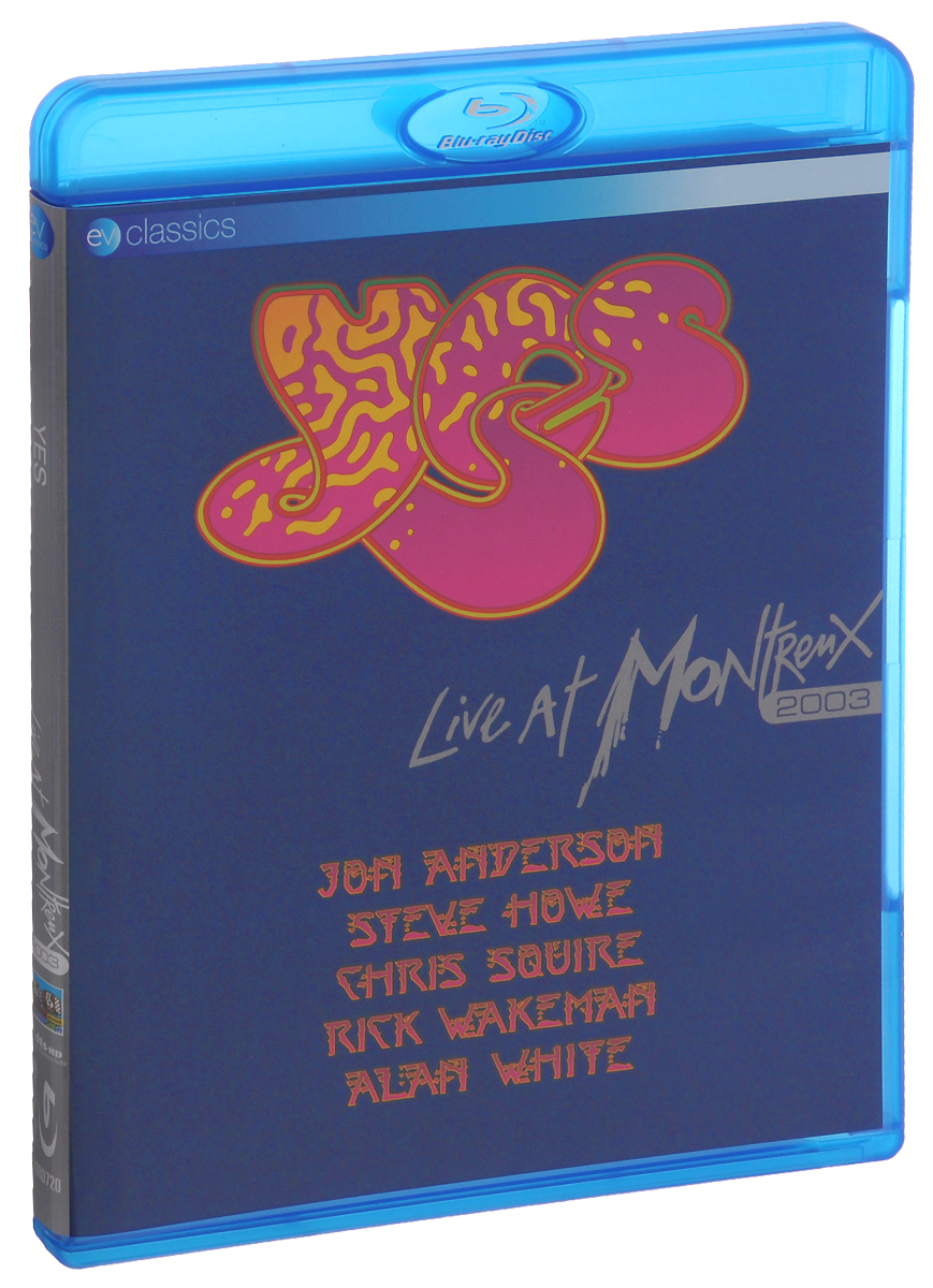 Yes: Live At Montreux 2003 (Blu-ray) yes yes in the present live from lyon 2 cd dvd