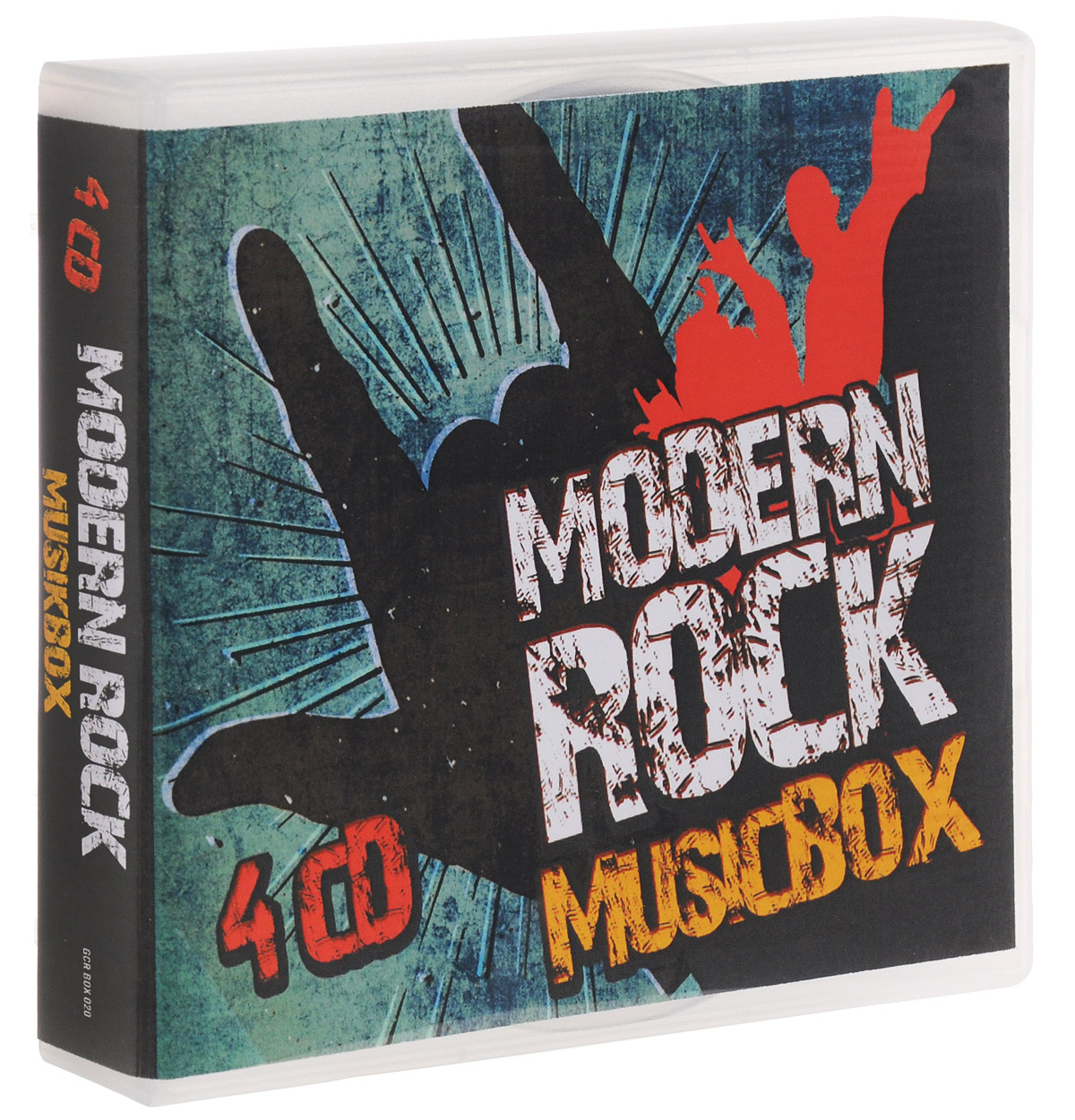 где купить Modern Rock Music Box (4 CD) дешево