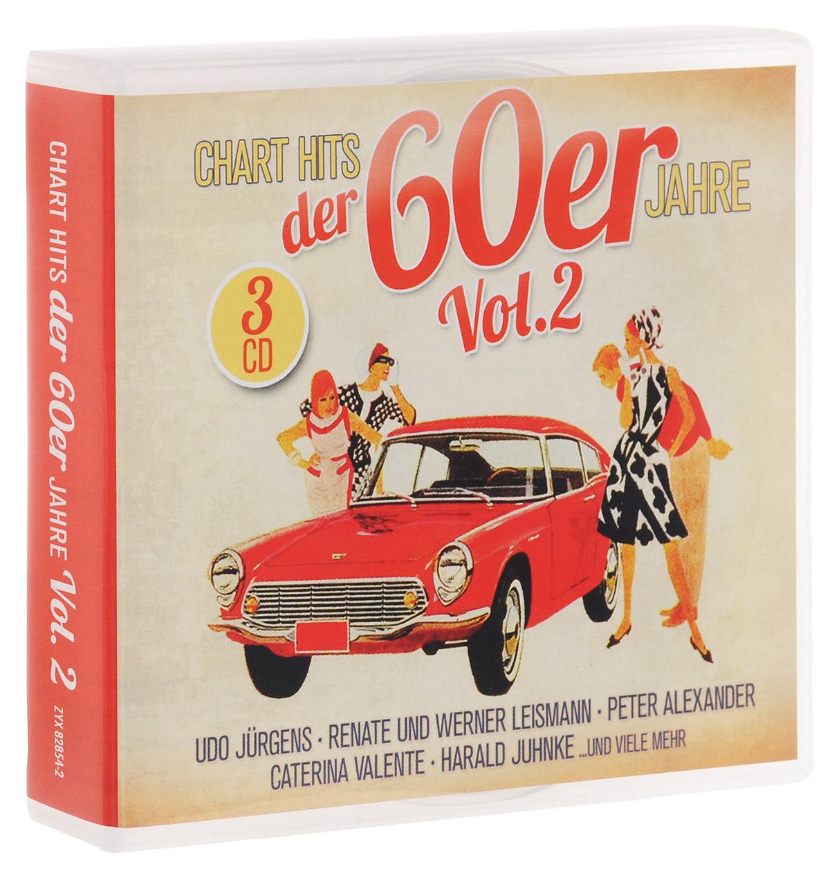все цены на Chart Hits Der 60er Jahre Vol. 2 (3 CD)