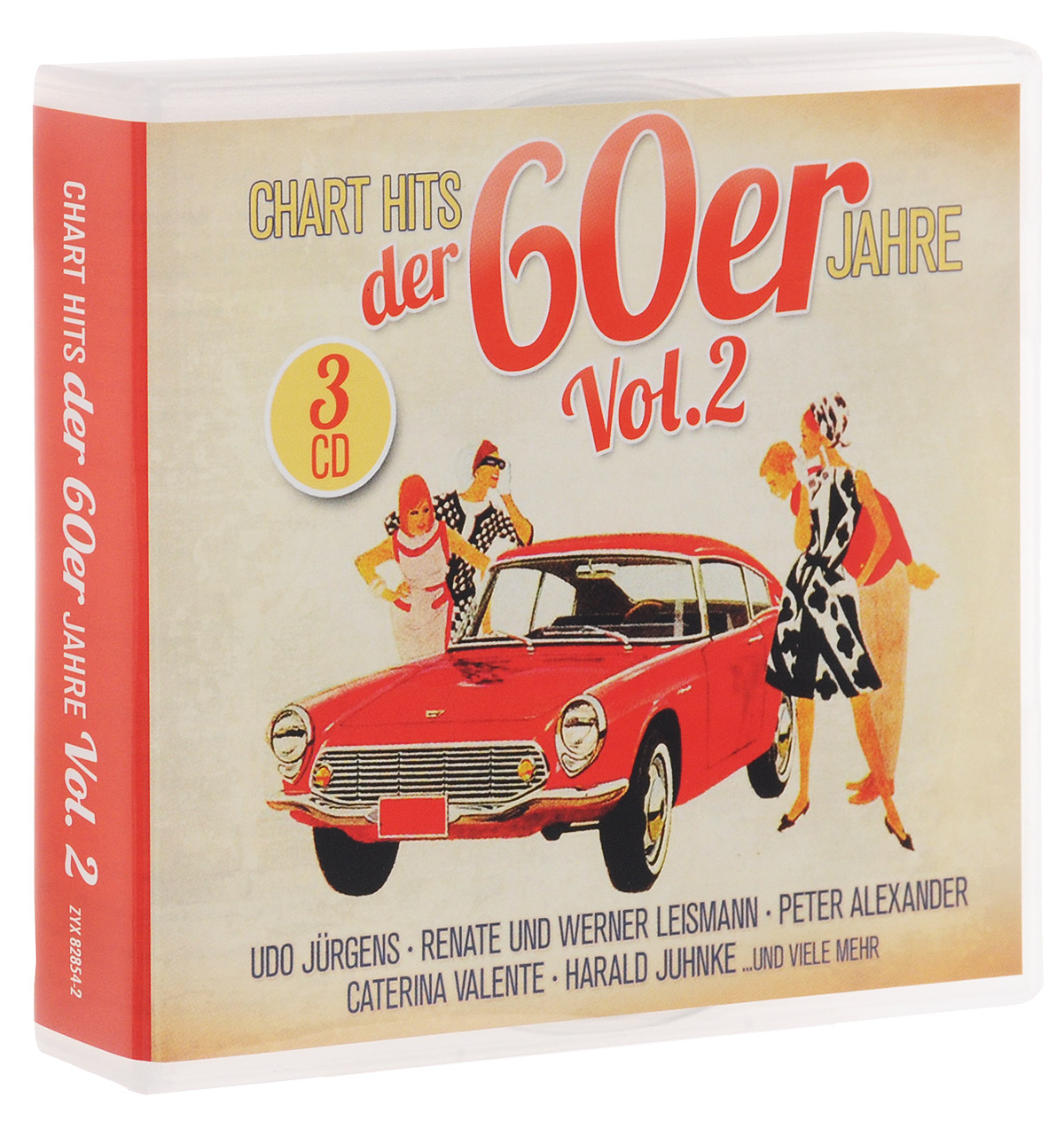 Chart Hits Der 60er Jahre Vol. 2 (3 CD) ботинки der spur der spur de034amwiz42