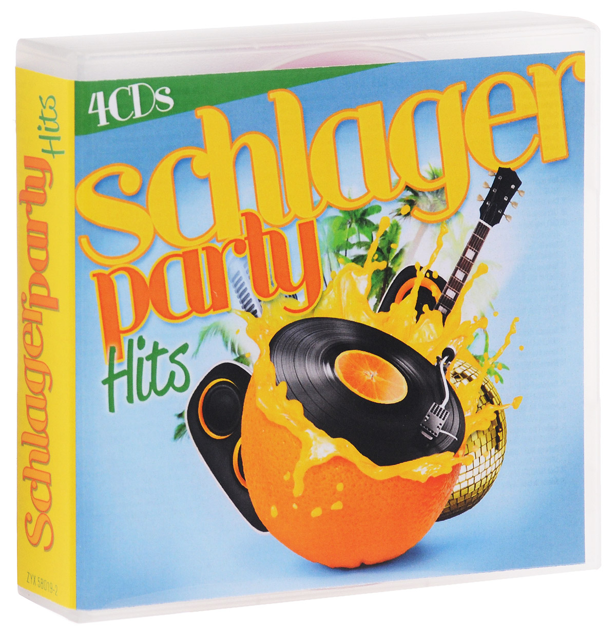 Schlagerparty Hits (4 CD) цена
