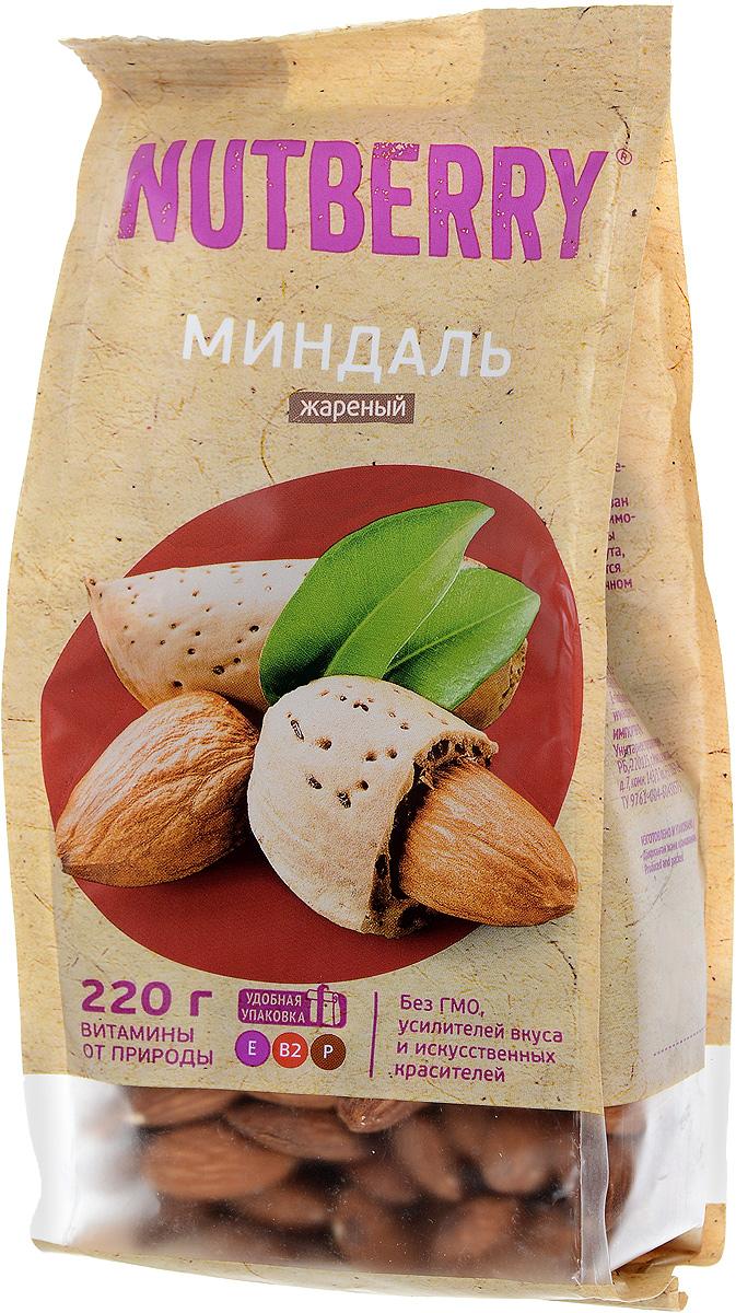 Nutberryминдальжареный,220г4620000676072Миндаль – чудесный орех, который имеет насыщенный, легкий и чуть горьковатый вкус. Польза миндаля: полезен при гипертонии, кроме того миндаль рекомендуют всем лицам, достигшим тридцатилетнего возраста, в качестве профилактического средства от атеросклероза при повышенном уровне холестерина.