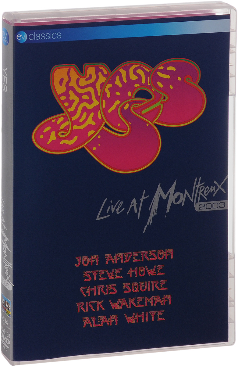 Yes: Live At Montreux 2003 yes yes in the present live from lyon 2 cd dvd