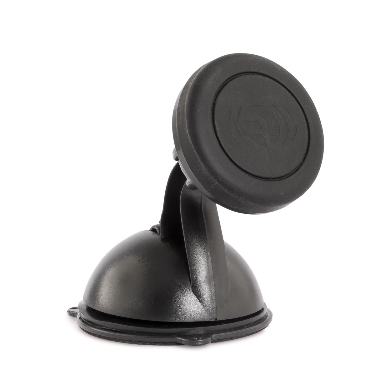 Rekam Magnitos M-3 универсальный магнитный держатель2301000203Rekam Magnitos M-3 - магнитный держатель для фиксации смартфона в салоне автомобиля. Основание держателя устанавливается на лобовомстекле при помощи присоски либо на приборной панели при помощи специальной накладки-липучки.Голова фиксатора оснащена постоянным неодимовым магнитом, который известен высокой силой намагничивания и не оказывает влияния наэлектронику. Магнит надежно удерживает смартфон во время движения автомобиля, в том числе по неровным участками, и в то же времяпозволяет легко снимать и устанавливать ваше устройство.Подвижное основание магнитной головы позволяет свободно регулировать угол наклона смартфона.Смартфон устанавливается на держатель при помощи специальной металлической пластины, которая крепится на задней поверхности смартфонапри помощи липучки либо фиксируется на внутренней поверхности чехла или крышки.