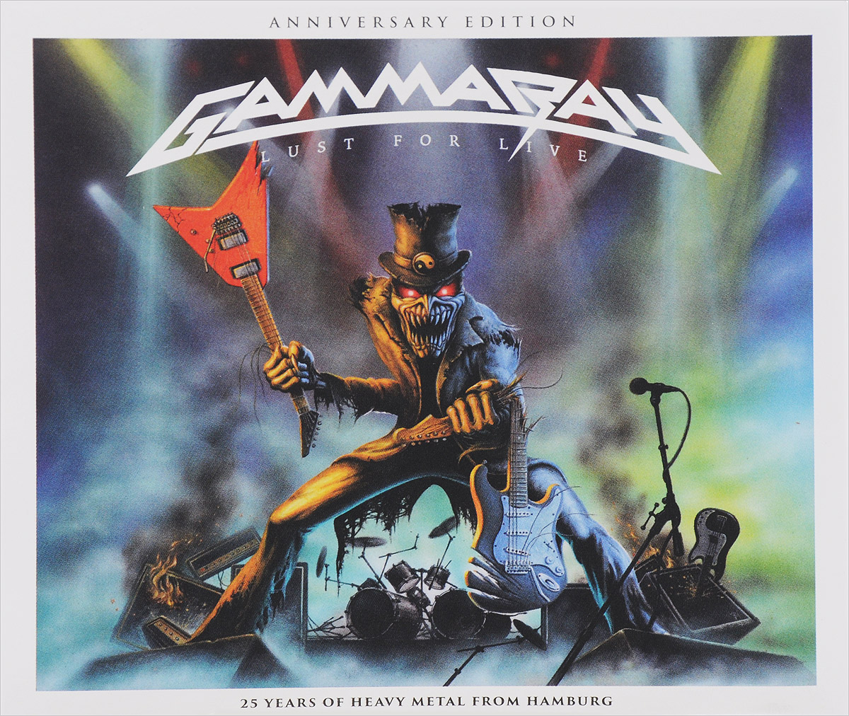 Gamma Ray Gamma Ray. Lust For Live. Anniversary Edition francis rossi live from st luke s london blu ray
