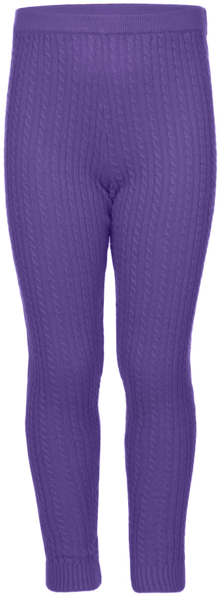 Леггинсы для девочки Sela, цвет: фиолетовый. PLGsw-515/115-6321. Размер 104, 4 годаPLGsw-515/115-6321Леггинсы для девочки Sela станут отличным дополнением к детскому гардеробу. Изготовленные из мягкой эластичной пряжи, они теплые, очень приятные на ощупь, не сковывают движения и позволяют коже дышать. Леггинсы дополнены на талии широкой эластичной резинкой. На брючинах предусмотрены манжеты. Оформлена модель вязаным узором.В таких леггинсах вашей принцессе будет тепло, комфортно и уютно!