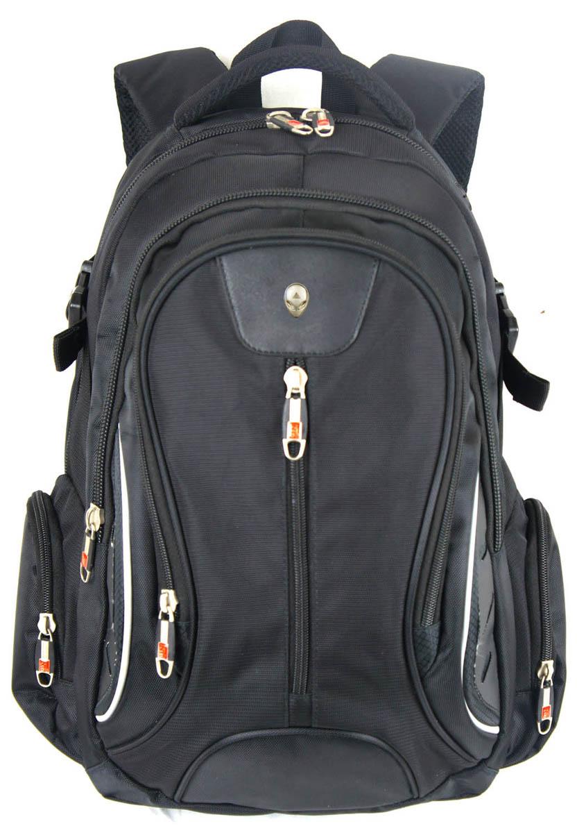 Рюкзак городской UFO people, цвет: черный, 21 л. 6790 рюкзак городской thule enroute daypack цвет черный 18 л