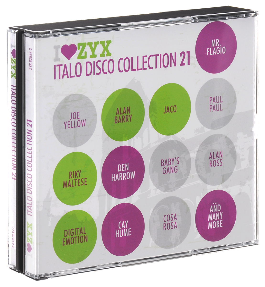 Флагио Мистер,Scotch,Дэн Хэрроу,Алан Барри Zyx Italo Disco Collection 21 (3 CD) михаель бедфорд клифф тернер майк мэрин пэтти райан solid strangers джо локвуд italo disco collection 3 3 cd