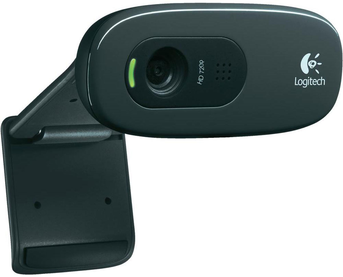 Logitech C270, Black веб-камера - Веб-камеры