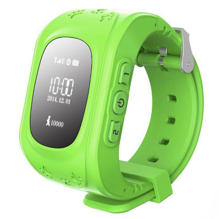 Кнопка жизни К911, Green часы-телефон с GPS-геолокацией