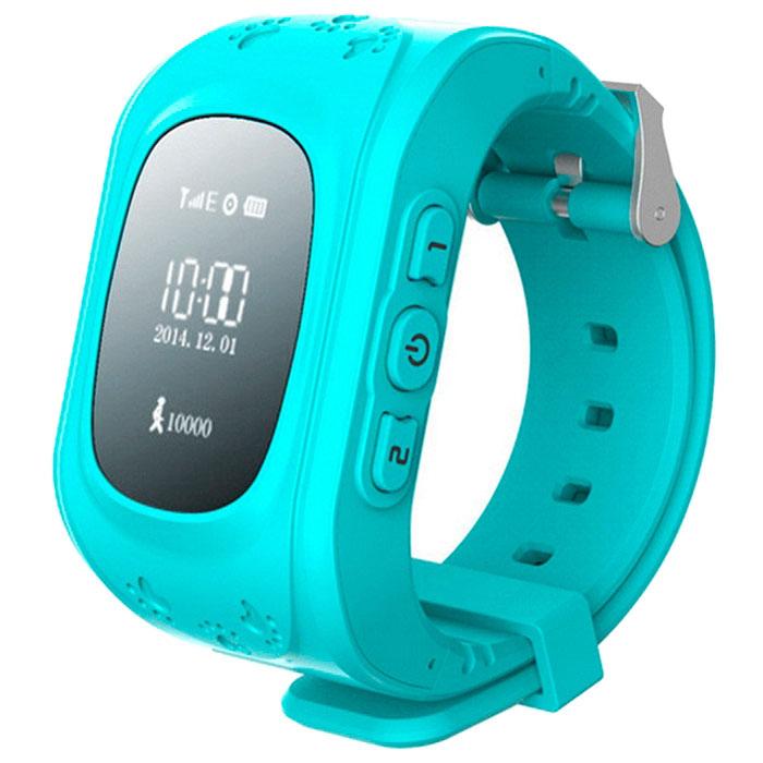 Кнопка жизни К911, Light Blue часы-телефон с GPS-геолокацией - Умные часы