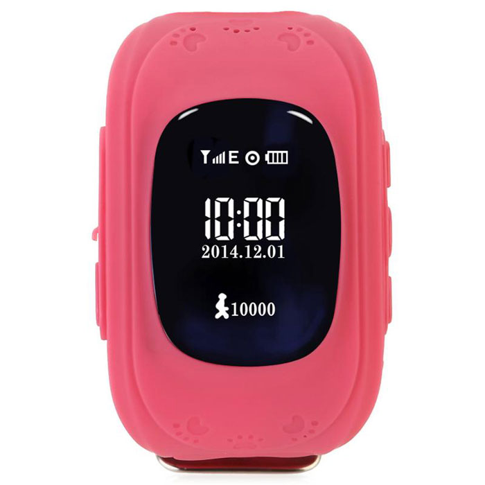 Кнопка жизни К911, Pink часы-телефон с GPS-геолокацией9110102Часы-телефон Кнопка жизни К911 имеют встроенный GPS. Как это работает и какие возможности дает? Управление функцией GPS осуществляется посредством приложения доступного на AppStore и PlayMarket. Интуитивно понятный интерфейс приложения максимально упрощает настройку и открываетбогатые функциональные возможности.Определение местоположенияДает возможность в режиме реального времени следить за перемещениями ребенка на электронных картах (Google). Вы получаете полную информацию о том, где находится и как перемещается ваш ребенок в любой момент времени.Гео-зоныВозможность установить желаемую безопасную зону, например р-н школы, двора и др. При выходе ребенка за границы гео-зоны вы получаете уведомление и можете перезвонить и уточнить причину и ситуацию.История перемещенийЗапись и хранение истории перемещения ребенка (все точки на карте, дата и точное время). При желании ее можно просмотреть как видеоролик. Можете узнать продолжительность прогулки, подсчитать кол-во шагов, кол-во затраченных калорий, даже узнать качество сна и многое другое.Датчик снятия с рукиЧасы всегда на руке - вы всегда на связи. При снятии GPS часов с руки вы получаете текстовое уведомление.Часы К911 имеют GSM-модуль, который позволяет использовать устройство как сотовый телефон. Вы можете установить сим-карту любого оператора сотовой связи. Для общение гаджет получил динамик и микрофон.ТелефонПомимо возможности принимать входящие звонки ребенок может сам вызвать абонента, например маму или папу. Вы можете разрешать/запрещать номерам звонить на часы, например внести в список разрешенных звонков только номера телефонов близких и родных.Кнопка SOSЧасы оснащены кнопкой SOS. Ребенок может воспользоваться ей, чтобы сообщить вам, что он в опасности. Одно нажатие и вам придет оповещение. Вы сможете вовремя оградить своего ребенка от опасности.СообщенияВозможность передавать друг другу короткие голосовые сообщения через интернет, отправлять ребенк