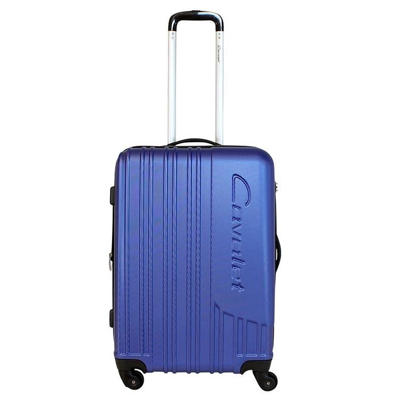 Чемодан-тележка Cavalet Malibu Luggage, 75+14 л, цвет: темно-синий. 858-60-70858-60-70Чемодан-тележка Cavalet на четырех колесах идеально подходит для поездок и путешествий. Корпус имеет жесткую конструкцию и выполнен из ударопрочного пластика с возможностью увеличения объема. Чемодан имеет вместительное отделение для хранения одежды и карманы для аксессуаров. Отделение закрывается на застежку-молнию и замок. Внутри сетчатый карман на молнии и багажные ремни для фиксации. Внутренняя поверхность изделия отделана полиэстером.В верхней части чемодана предусмотрена ручка для переноски. На одной из боковых сторон - пластиковые ножки, на другой - дополнительная ручка для переноски. Чемодан оснащен удобной телескопической ручкой. Стильный и удобный чемодан-тележка Cavalet вместит все необходимые вещи и станет незаменимым аксессуаром во время поездок.Как выбрать чемодан. Статья OZON Гид