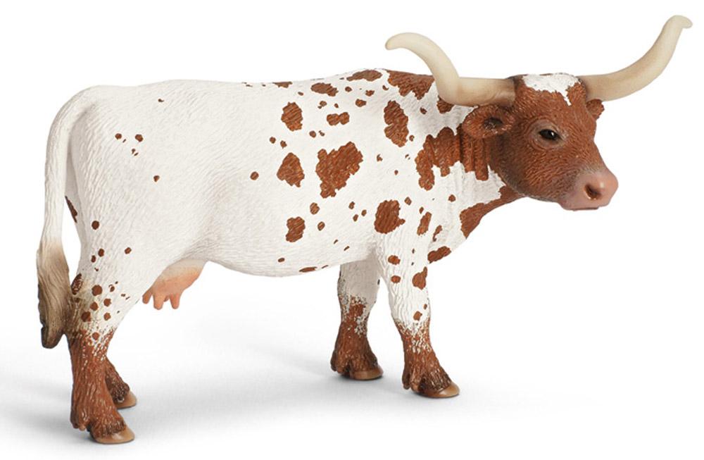 Schleich Фигурка Корова Техасский лонгхорн schleich гольштинская корова