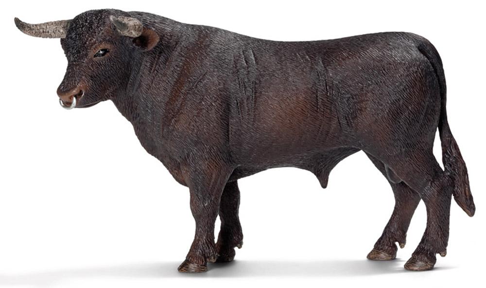 Schleich Фигурка Черный бык черный